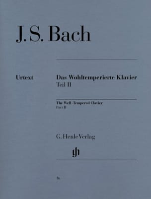 BACH - The Well Tempered Keyboard Volume 2 - Sheet Music - di-arezzo.co.uk