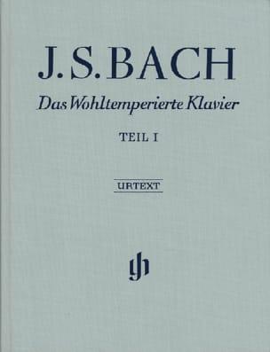 Jean-Sébastien Bach - Le Clavier Bien Tempéré. Livre 1. Edition Reliée. - Partition - di-arezzo.fr