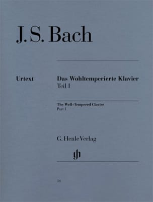 BACH - The Well Tempered Keyboard Volume 1 - Sheet Music - di-arezzo.com