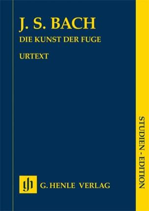 L'art de la Fugue - Jean-Sébastien Bach - Partition - laflutedepan.com