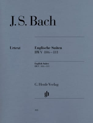 BACH - English Suites BWV 806-811 - Sheet Music - di-arezzo.co.uk