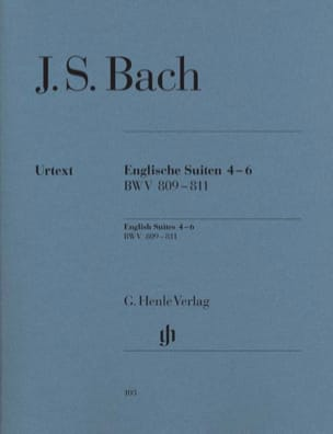 BACH - English Suites 4-6 BWV 809-811 - Sheet Music - di-arezzo.com