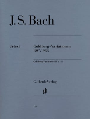 BACH - Variations Goldberg - Partition - di-arezzo.fr