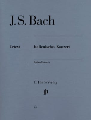 BACH - Italian Concerto - Sheet Music - di-arezzo.co.uk