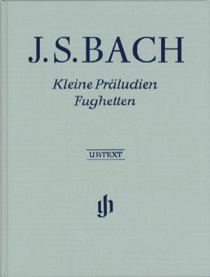 BACH - Little Preludes and Fugues. joined - Sheet Music - di-arezzo.com