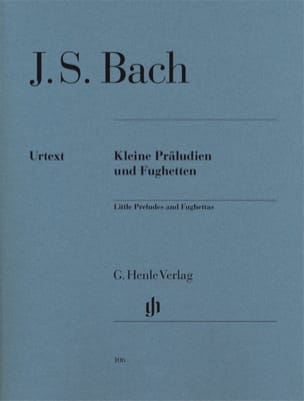 BACH - Little Preludes and Fugues - Sheet Music - di-arezzo.co.uk