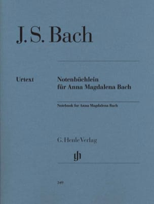 BACH - Anna Magdalena Bach's Little Book - Partitura - di-arezzo.it