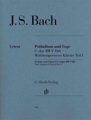 BACH - Prelude and Fugue In C Major BWV 846 - Sheet Music - di-arezzo.com