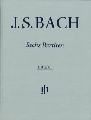 6 Partitas - Edition Reliée BACH Partition Piano - laflutedepan
