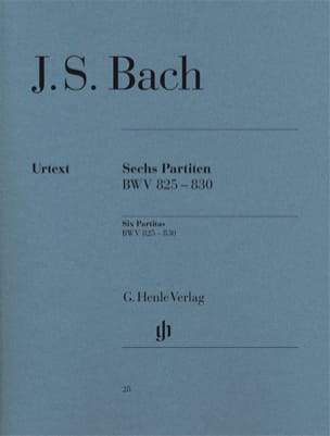 BACH - 6 Partitas - Sheet Music - di-arezzo.com