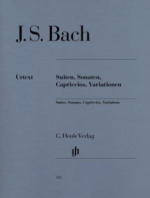 Jean-Sébastien Bach - Suites, Sonates, Capriccios et Variations - Partition - di-arezzo.fr