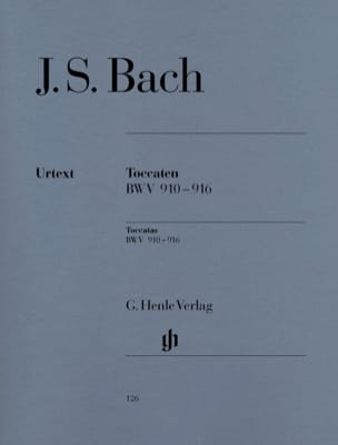 BACH - toccata - Sheet Music - di-arezzo.co.uk