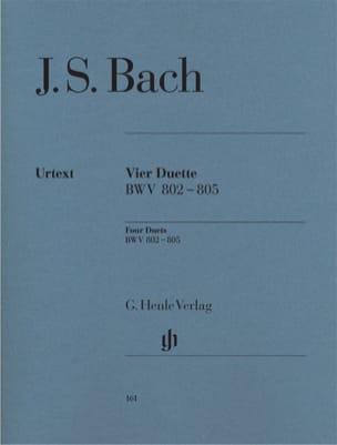 BACH - Duette. BWV 802-805 - Sheet Music - di-arezzo.co.uk