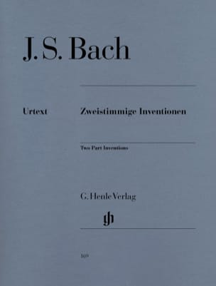 BACH - Inventions to Two Voice Bwv 772-786 - Sheet Music - di-arezzo.co.uk