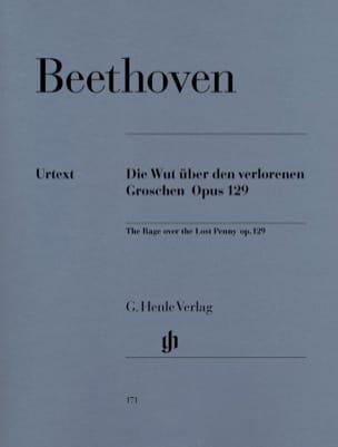 BEETHOVEN - Die Wut über den verlorenen groschen Opus 129 - Sheet Music - di-arezzo.co.uk