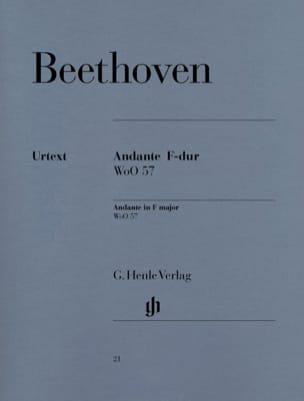 Andante en Fa majeur WoO 57 - Ludwig van Beethoven - laflutedepan.com