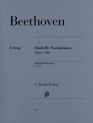 BEETHOVEN - Variations Diabelli C major Opus 120 - Sheet Music - di-arezzo.com