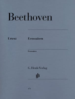 Ecossaises WoO 83 et WoO 86 BEETHOVEN Partition Piano - laflutedepan