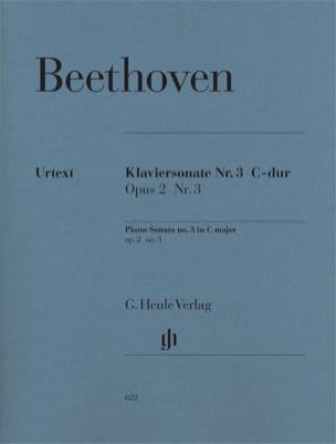 Sonate pour piano n° 3 en Ut majeur Opus 2-3 BEETHOVEN laflutedepan