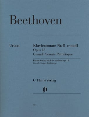 BEETHOVEN - Sonata No. 8 in C minor Opus 13 - Sheet Music - di-arezzo.co.uk