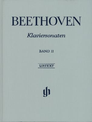 BEETHOVEN - Sonates Pour Piano, Volume 2 Edition Reliée - Partition - di-arezzo.fr