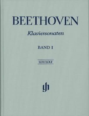 BEETHOVEN - Sonates Pour Piano, Volume 1 - Edition Reliée - Partition - di-arezzo.fr