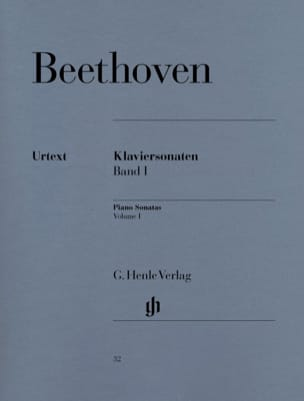 Sonates pour Piano Volume 1 BEETHOVEN Partition Piano - laflutedepan
