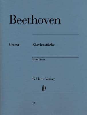 Klavierstücke BEETHOVEN Partition Piano - laflutedepan