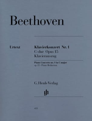 BEETHOVEN - Concerto No. 1 in C major Opus 15 - Sheet Music - di-arezzo.com