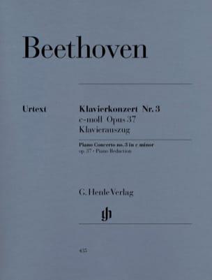 BEETHOVEN - Piano Concerto No. 3 in C minor Opus 37 - Sheet Music - di-arezzo.co.uk
