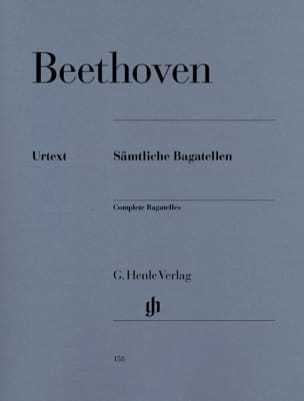 Bagatelles BEETHOVEN Partition Piano - laflutedepan