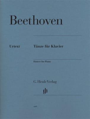 BEETHOVEN - Danses Pour Piano - Partition - di-arezzo.fr