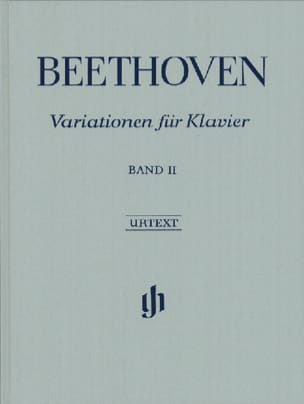 Ludwig van Beethoven - Variations Pour Piano, Volume 2 - Edition Reliée - Partition - di-arezzo.fr
