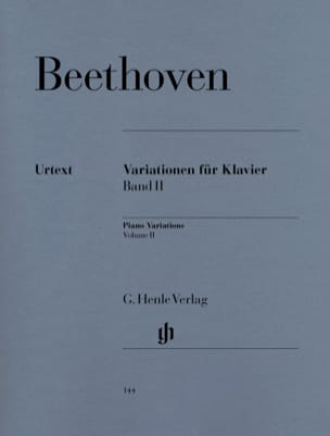 BEETHOVEN - Variations For Piano Volume 2 - Sheet Music - di-arezzo.com