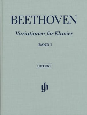 BEETHOVEN - Variations Pour Piano, Volume 1 - Edition Reliée - Partition - di-arezzo.fr