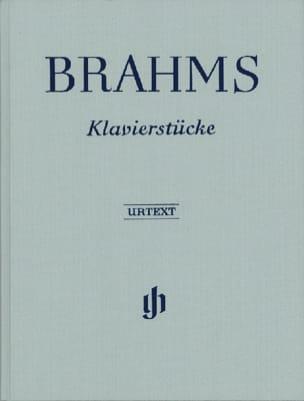 BRAHMS - Klavierstücke - Edition Reliée - Partition - di-arezzo.fr