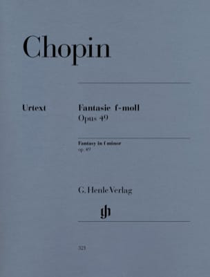 CHOPIN - Fantasía Fa Minor Opus 49 - Partitura - di-arezzo.es