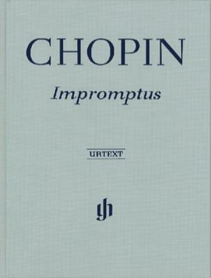 Impromptus - Relié CHOPIN Partition Piano - laflutedepan