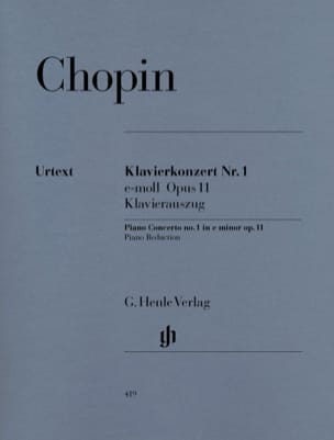 CHOPIN - Piano Concerto No. 1 in E minor Opus 11 - Sheet Music - di-arezzo.com