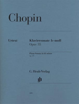 CHOPIN - Sonata for piano in B flat minor Opus 35 - Sheet Music - di-arezzo.co.uk