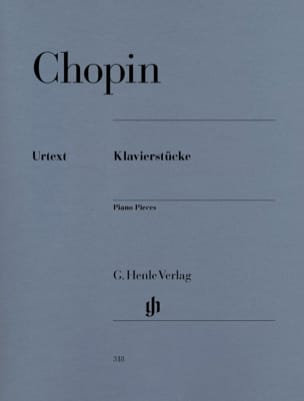 CHOPIN - Piano parts - Klavierstücke - Sheet Music - di-arezzo.co.uk