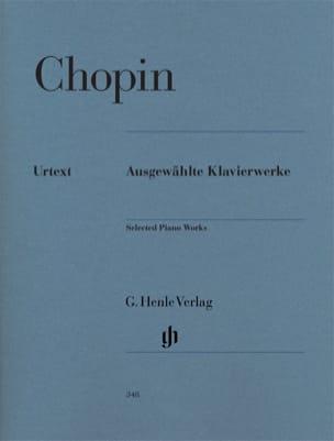 Ausgewählte Klavierwerke CHOPIN Partition Piano - laflutedepan