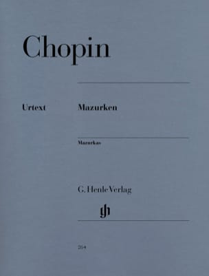 Mazurkas CHOPIN Partition Piano - laflutedepan