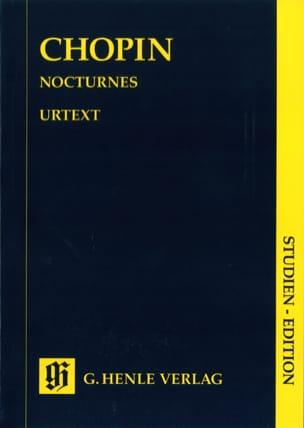 Nocturnes CHOPIN Partition Petit format - laflutedepan