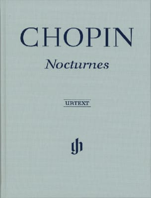 CHOPIN - Nocturnes - Hardcover Edition - Sheet Music - di-arezzo.co.uk