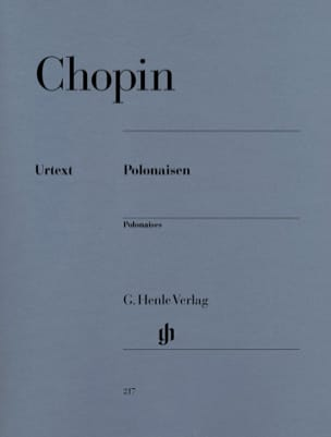 Polonaises CHOPIN Partition Piano - laflutedepan