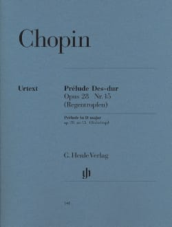 CHOPIN - Prelude In D Flat Major Opus 28 N ° 15 - Sheet Music - di-arezzo.com