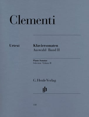 Sonates choisies. Volume 2 CLEMENTI Partition Piano - laflutedepan