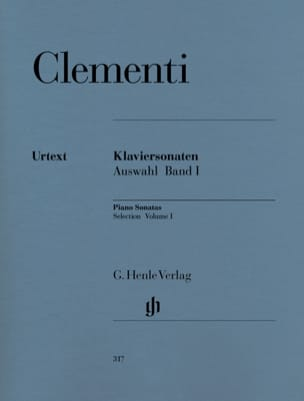 Muzio Clementi - Sonates choisies. Volume 1 - Partition - di-arezzo.fr