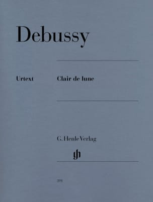 Claude Debussy - Moonlight - Sheet Music - di-arezzo.com